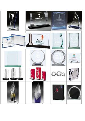Catálogo de Cristales y metacrilatos