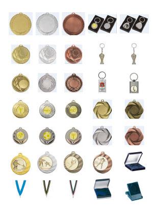Catálogo Medallas, Llaveros y Pines