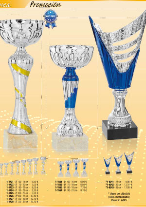 Catálogo de Copas