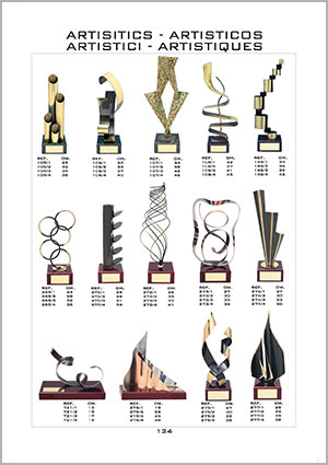 Catálogo de Trofeos Artísticos